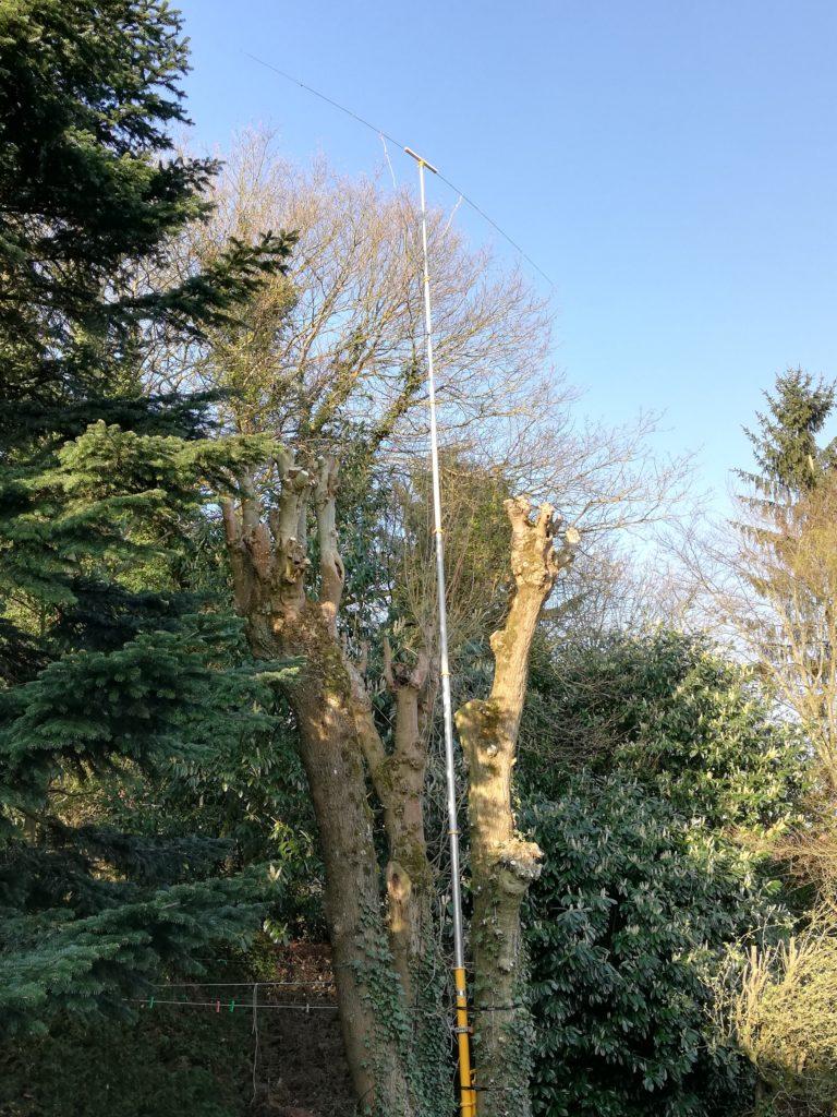 F4IEW antenne 10m accordée 28,950 Mhz
